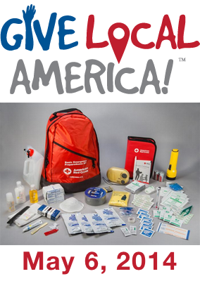 Give Local America May 6 2014 and Help Saint Vincents Day Home Buy New Emergency Kits