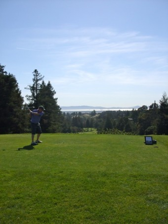 Teeing Off at the Saint Vincent's Day Home Annual Golf Tournament 2014