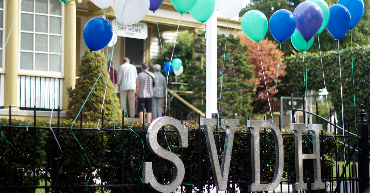 Welcome to the Saint Vincent's Day Home Annual Brunch
